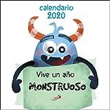 Calendario de pared Aᆬo Monstruoso 2020 (Calendarios y Agendas)...