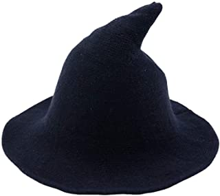Women's Witch Kinitted-Wool Hats, for Halloween Party Masquerade Cosplay Costume Accessory and Daily