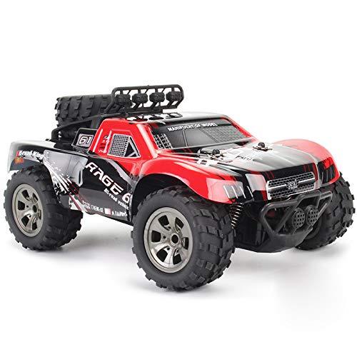 yanzz Coche Teledirigido, 2.4G Escalada de Alta Velocidad Bigfoot RC Trucks 4x4 Offroad Car, 260 Motor 2WD Todo Terreno RC Vehículo niños