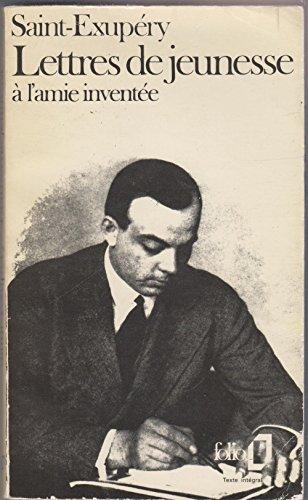 Lettres de jeunesse à l'amie inventée : 1923-1931