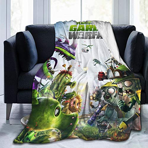 PatriciaHeredia Plants Vs Zombies : Garden Warfare Luxury Flannel Fleece Blanket Lightweight Throw Blanket Warm Bed Blanket Ultra-Soft Cozy Microfiber Blanket Polar Fleece Blanket Travel Blanket
