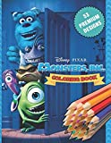 Monsters, inc. Coloring Book: Great Coloring Book For Kids and Adults - Coloring Book With High Quality Images For All Ages