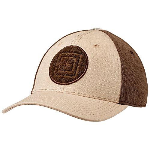 5.11 Tactical Men's Polyester Cotton Buckram Lined Downrange Cap 2.0, TDU Khaki, Large/X-Large, Style 89416