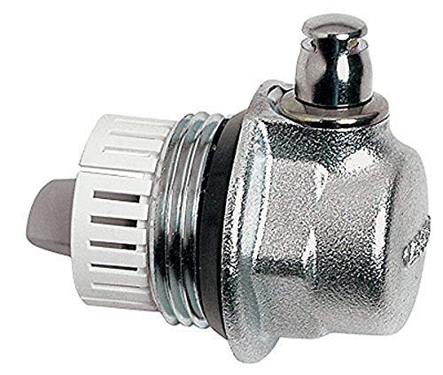 Caleffi - AERCAL - Tappo per radiatori con valvola di sfogo aria, 1' M, Destro
