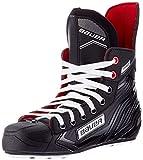 BAUER Pro Skate Pattini da ghiaccio Nero (Black-White-Red-SI 900) - 48 EU...