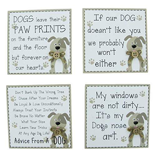 Dog Fridge Magnet Cute Novelty Dog Funny Quotes Dog's Advice Cream Ideal Gift Man's Best Friend (LIKE YOU)