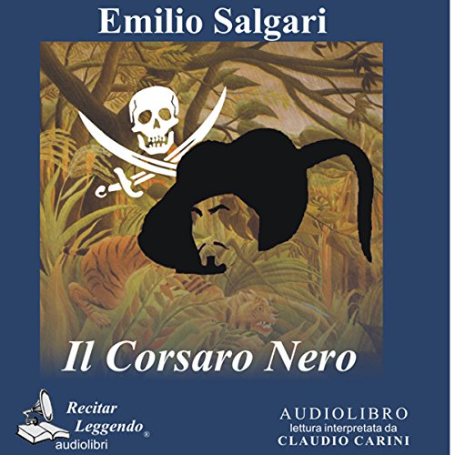 Il Corsaro Nero [The Black Corsair] cover art