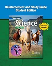 Glencoe iScience, Level Green, Grade 7, Reinforcement and Study Guide, Student Edition (INTEGRATED SCIENCE)