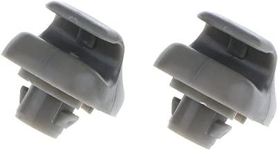 Perfk 2Pcs Sun Visor Sunvisor Clip Hook Hanger Bracket Holder for Accord Civic CRV 1998-2011, PN 88217S01A01ZA