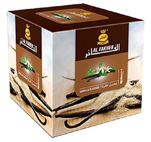 Al Fakher Hookah Shisha Flavors 250g - Non Tobacco (Vanilla)