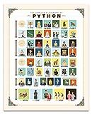 Poster Monty Python, 40,6 x 50,8 cm, Geschenkgröße