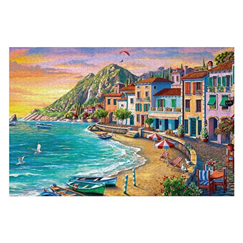 300 Piece Wooden Jigsaw Puzzle The Tower of Babel Large Puzzle Game for Adults and Teenagers