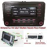 Autoradio Stereo RCN210 Bluetooth CD MP3 USB AUX SD für VW Golf Passat Jetta Polo TIGUAN Caddy EOS CC +Kabel