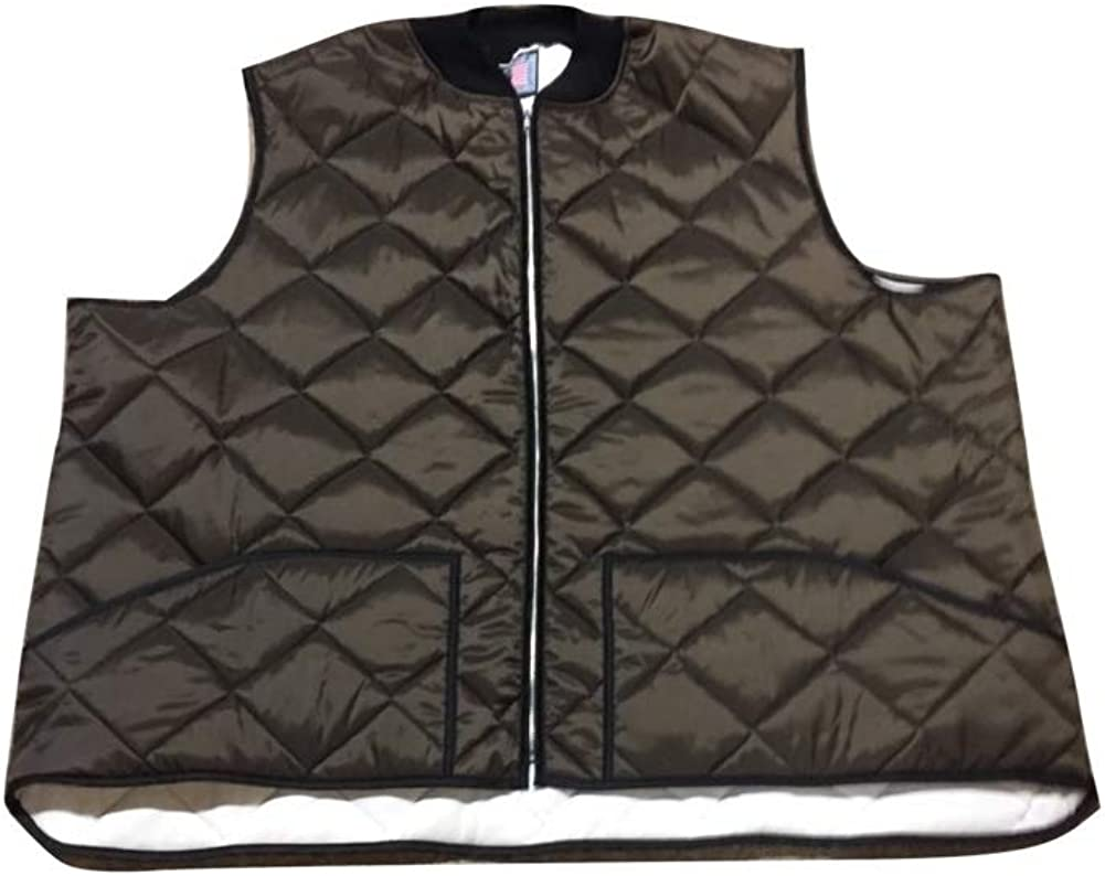 Big and Tall Quilted Holofill Winter and Cold Weather Work 'n Casual Vest to 8X Made in USA