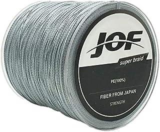Linha Pesca Multifilamento JOF 500 Metros 0.40mm 70 Lbs Cinza