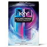 Lubricant for Him and Her, K-Y Yours & Mine Couples Lubricant, 3 fl oz, Couples Personal Lubricant and Intimate Gel, Sex Lube for Women, Men and Coupl