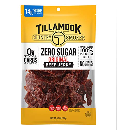 Tillamook Country Smoker Keto Friendly Zero Sugar Beef...