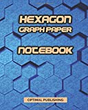 Hexagon Graph Paper Notebook: Hexagonal Composition Lab Note Book Journal -  Organic Chemistry & Biochemistry Notepad