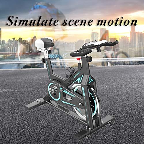 2WD Exercise Bike, Indoor Cycling Bike, Fittness Bike, Health & Fitness Exercise Cycling Bike, Belt Drive Indoor Spin…