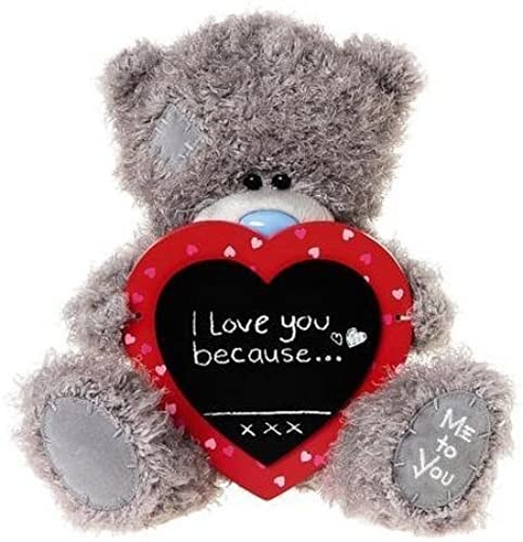 Me to You 10  Tatty Teddy Bear mit Chalk Board