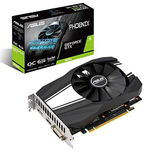 Placa de Video GeForce, Asus, PH-GTX1660-O6G, Phoenix 6GB DDR5