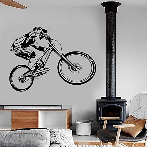 AKmene Mountain Bike Extreme Sports Bicycle Garage Home Decoration 76x57cm