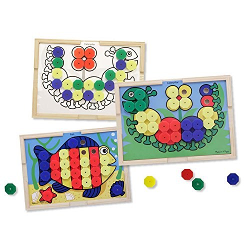 Melissa & Doug 14313 - Sort and Snap Colour Match , Farbsortierspiel Mit Schnappkappen