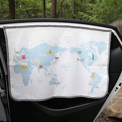 Magnetic Car Sun Shade Curtain for Side Window Baby Kids Children Sunshade Protector Protects from...