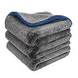 Microfiber Towels for Cars, Healsell Car Drying Towel, Premium Professional Soft Microfiber Drying...