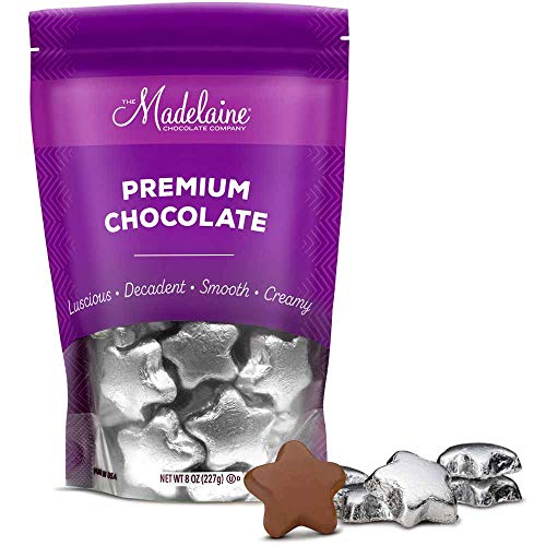 Madelaine Solid Premium Milk Chocolate Stars
