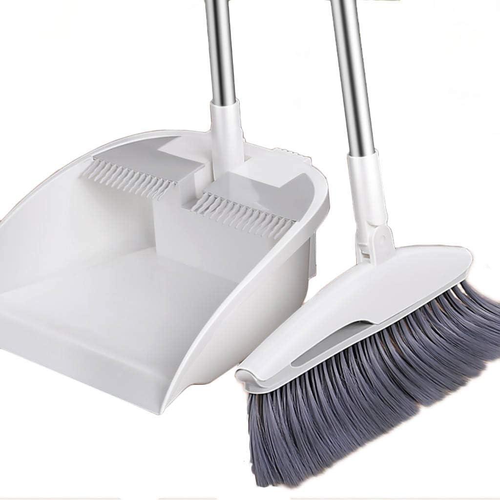 Recommendation NLIAN- Broom 2021 model and Dustpan Set 180 ° 45 Rotation Bevel B Design