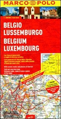 Belgio, Lussemburgo 1:200.000. Ediz. multilingue