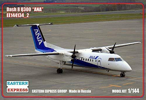 ボンバルディア ダッシュ8Q300 ANA 全日空 1/144 スケール モデル