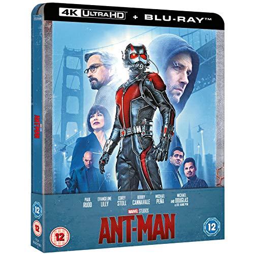 Ant-Man 4K Ultra HD Limited Edition Steelbook /Import / Includes Region Free 2D Blu Ray