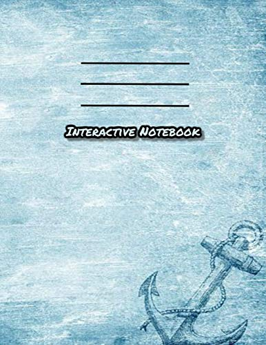 Interactive Notebook: INB Template Composition Book: Pre-made Table of Contents, Numbered Pages, Sketch Paper (left output), Wide Ruled (right input) and Glossary Softcover 8.5 x 11.