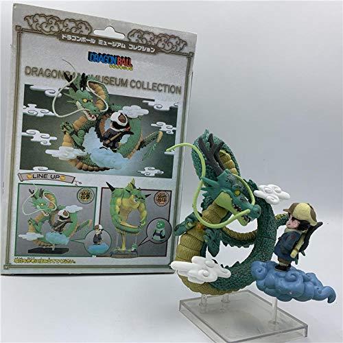 CXNY Dragon Ball Z Museum Collection Goku Shenron Shenlong Linda Figura de acción de PVC Goku...