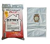 Electric Vac LLC Kirby Micron Magia Micro Plus alérgenos HEPA Filtro de vacío Bolsas Paquete de 6# 204