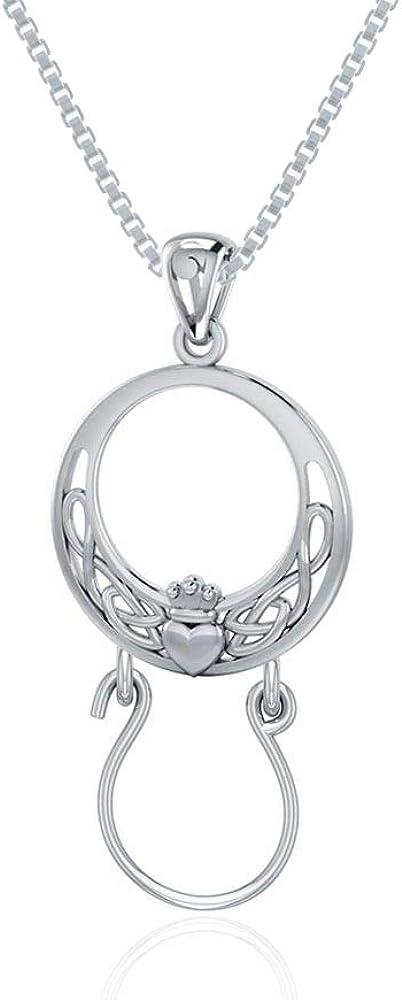 Jewelry Trends Celtic Claddagh Charm Sterling Holder 超人気 Keepsake 驚きの値段 Si