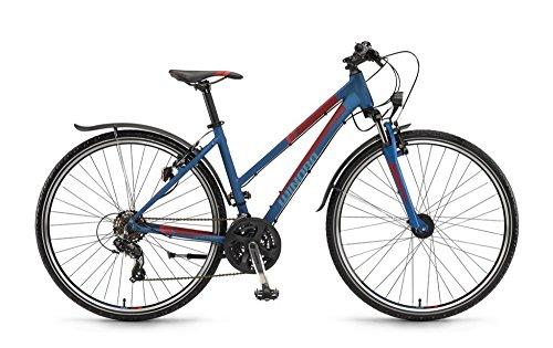 Winora Grenada 28 Zoll Crossbike Damen Blau/Rot Matt (2016), 46
