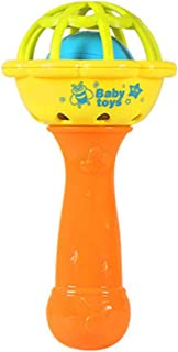 Anniston Baby Accessories, Handheld Cartoon Soft Baby Rattle Hand Bell Educational Teething Musical Toy Perfect Fun time P...