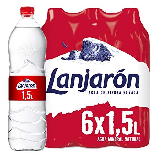 Lanjarón, Agua Mineral Natural - Pack de 6 x 1,5L