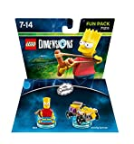Lego Dimensions - The Simpsons - Bart Fun Pack [Importación Inglesa]