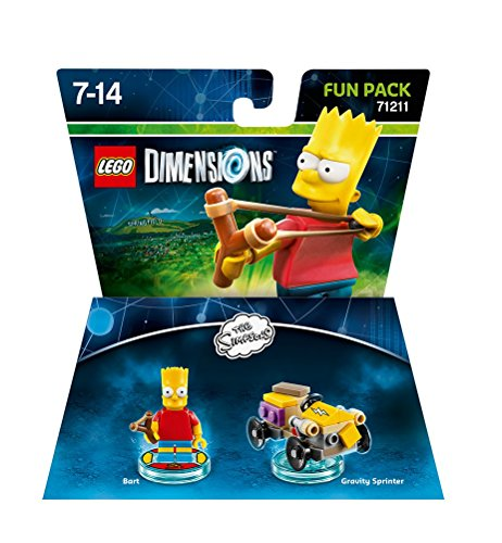 Lego Dimensions - The Simpsons - Bart Fun Pack [Importación Inglesa]