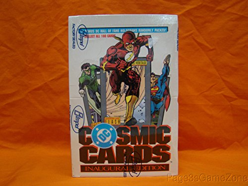 DC Cosmic Cards Inaugural Edition Trading Box -36 Count