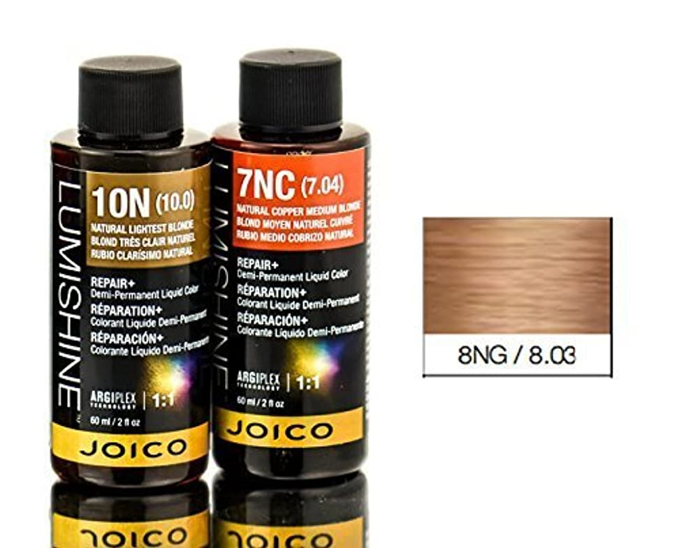 スナッチ民兵健康的Joico Lumishineデミパーマネント液体色、8ng / 8.03、 2オンス