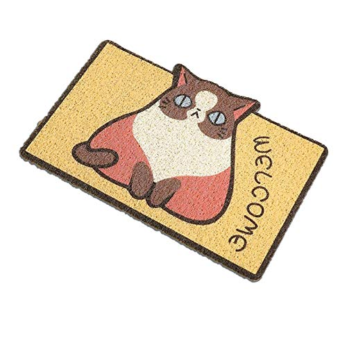Earthily Felpudos Entrada Casa Mat de dibujos animados alfombra de la alfombra de la alfombra de la alfombra de la alfombra de la alfombra de la alfombra de la alfombra de la puerta de la puerta delan