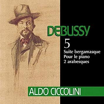 Debussy: Suite bergamasque, Pour le piano & 2 Arabesques