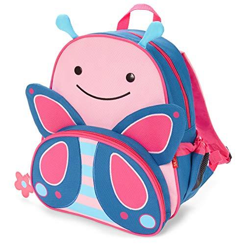 """Skip Hop Toddler Backpack, 12"""" School Bag, Butterfly"""