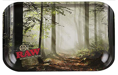 RAW Smokey Forest - Bandeja de metal para 1 mini-ray