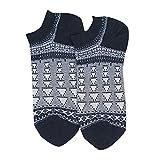 IFOUNDYOU Socken für Männer und Frauen, Freizeit Retro Baumwollsocken Streifen Drucken Kurz Süß Geschenk socken 2019 Neu Sport Socken Unisex